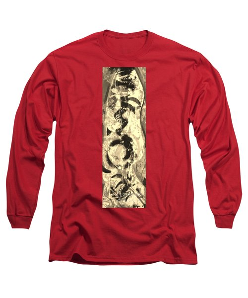 Long Sleeve T-Shirt featuring the painting Carpenter by Carol Rashawnna Williams