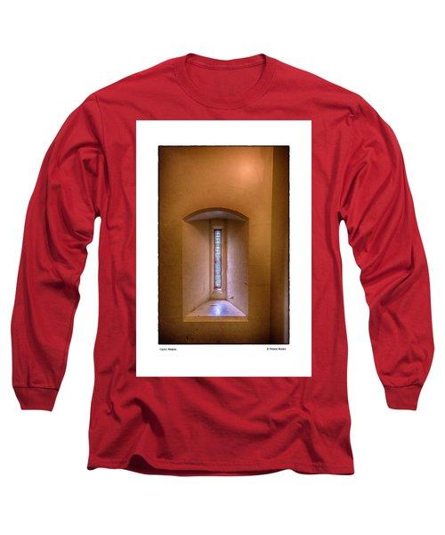 Castle Window Long Sleeve T-Shirt by R Thomas Berner