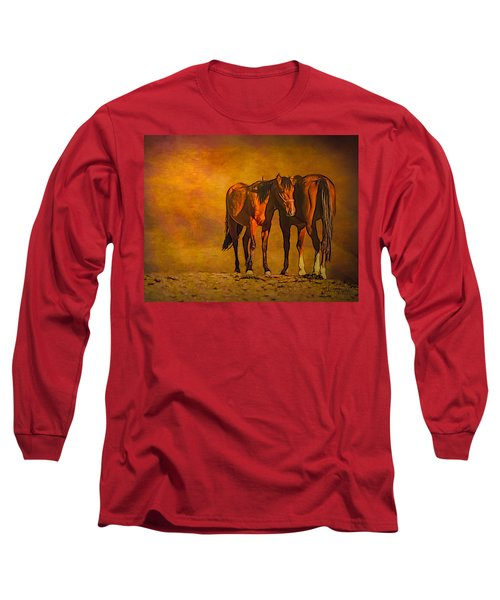 Catching The Last Sun Photoart Long Sleeve T-Shirt