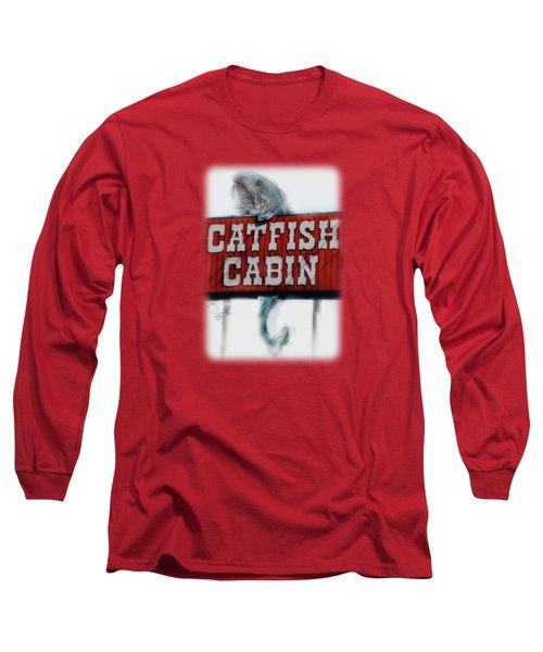 Catfish Cabin  Long Sleeve T-Shirt by Anita Faye