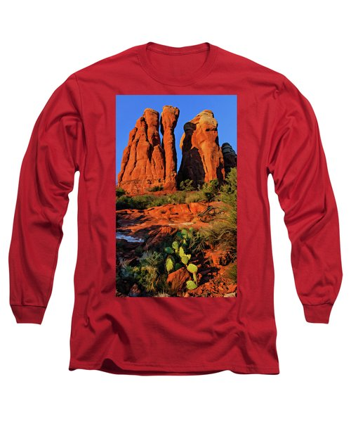 Cathedral 06-074 Long Sleeve T-Shirt by Scott McAllister