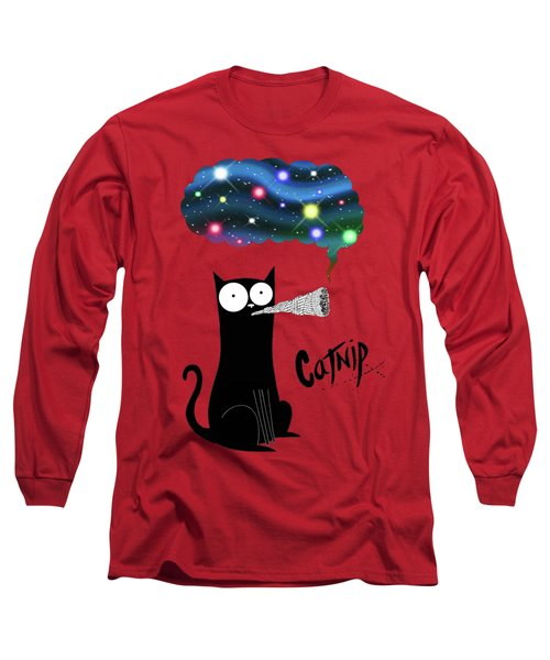 Catnip  Long Sleeve T-Shirt by Andrew Hitchen