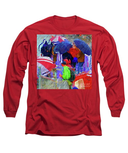 Caught In A Shower Long Sleeve T-Shirt