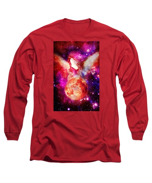 Celestial Beings Of Light Long Sleeve T-Shirt