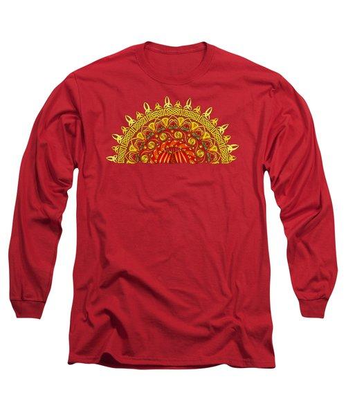 Celtic Dawn Long Sleeve T-Shirt by Kristen Fox