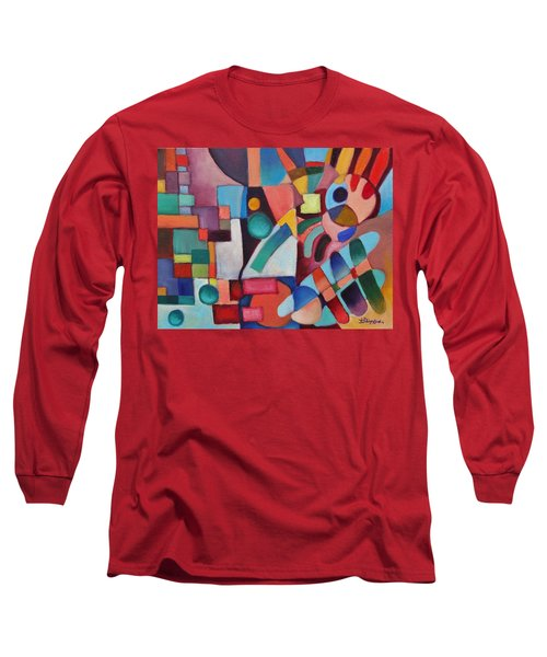 Cerebral Decor # 3 Long Sleeve T-Shirt