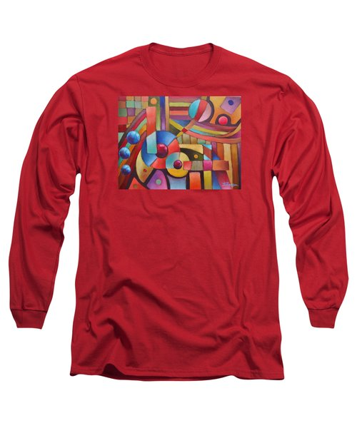 Cerebral Decor # 5 Long Sleeve T-Shirt by Jason Williamson
