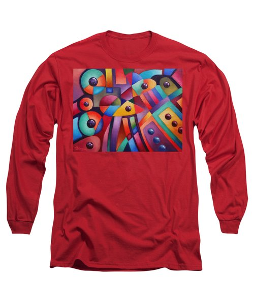 Cerebral Decor # 6 Long Sleeve T-Shirt