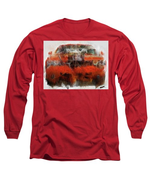 Challenger Wash Long Sleeve T-Shirt by Michael Cleere