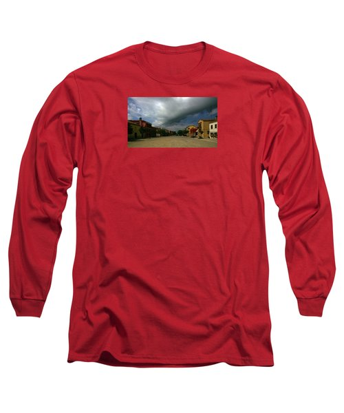 Long Sleeve T-Shirt featuring the photograph Change In The Weather by Anne Kotan