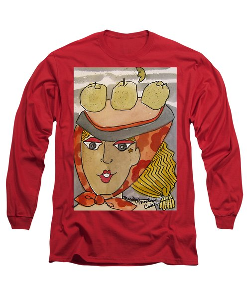 Chapeau Pommes Long Sleeve T-Shirt