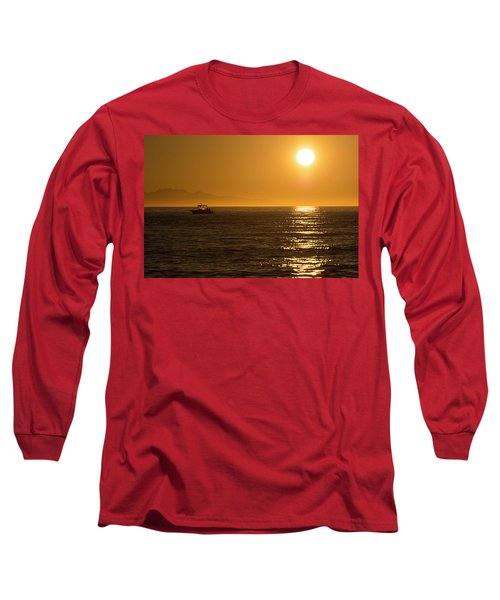 Charm Of A Sunset Long Sleeve T-Shirt