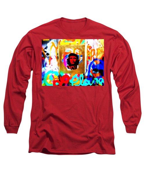 Che Guevara Paris Long Sleeve T-Shirt