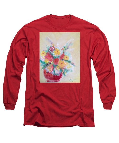 Cheerful Flower Arrangement Long Sleeve T-Shirt