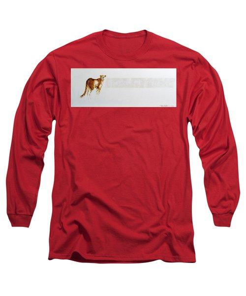 Cheetah And Zebras Long Sleeve T-Shirt