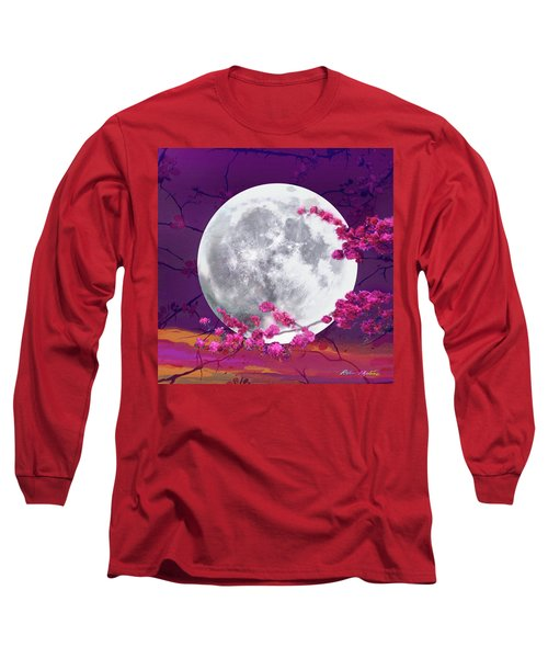 Cherry Moon  Long Sleeve T-Shirt