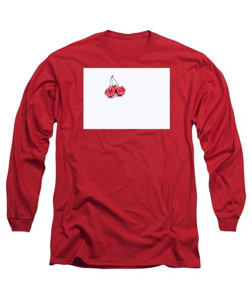 Cherry Trio Long Sleeve T-Shirt by Sabine Edrissi