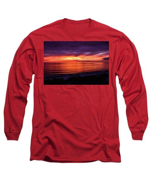 Chesapeake Bay Sunset Long Sleeve T-Shirt