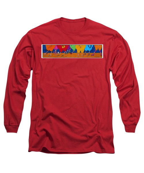 Chicken Walk Long Sleeve T-Shirt