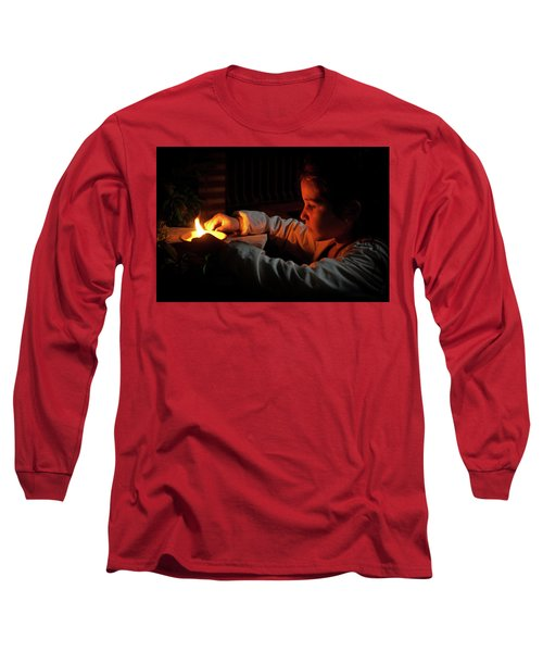 Child In The Night Long Sleeve T-Shirt