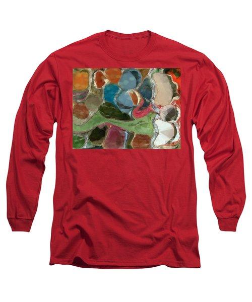 Blue Monks Long Sleeve T-Shirt
