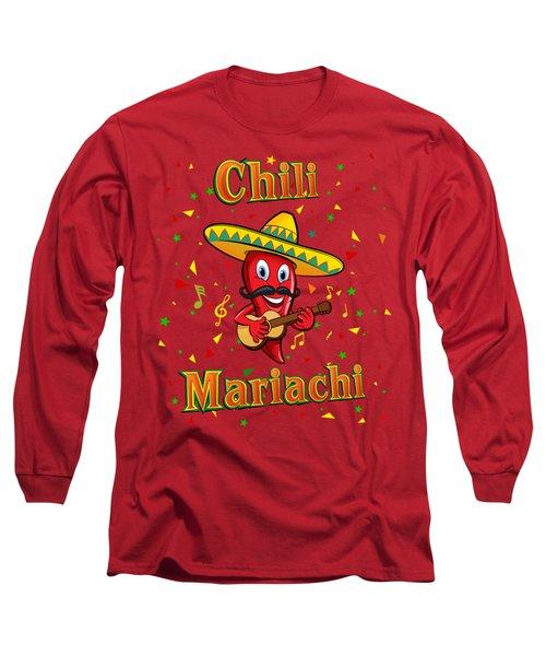 Chili Mariachi Long Sleeve T-Shirt