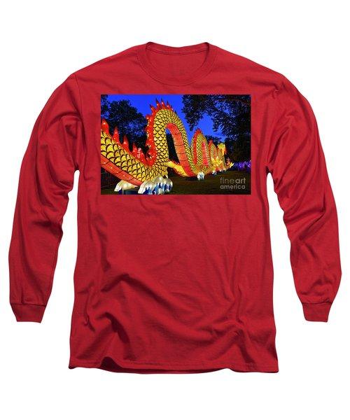 Chinese Lantern Festival Long Sleeve T-Shirt