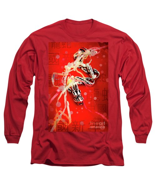 Chinese New Year Background Long Sleeve T-Shirt