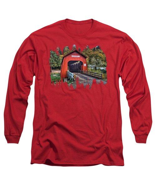 Chitwood Covered Bridge Long Sleeve T-Shirt