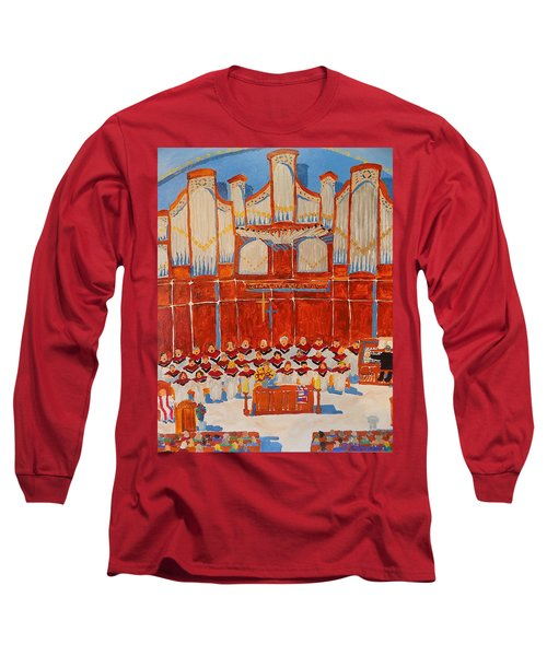 Choir And Organ Long Sleeve T-Shirt