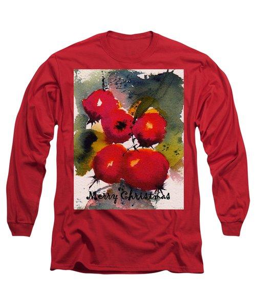 Christmas Berries Long Sleeve T-Shirt