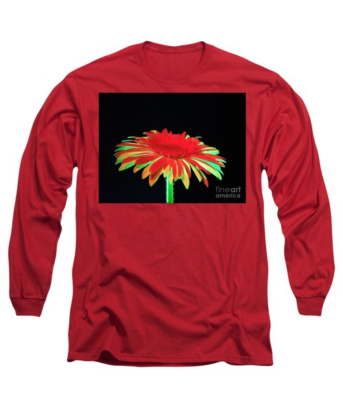 Christmas Daisy Long Sleeve T-Shirt