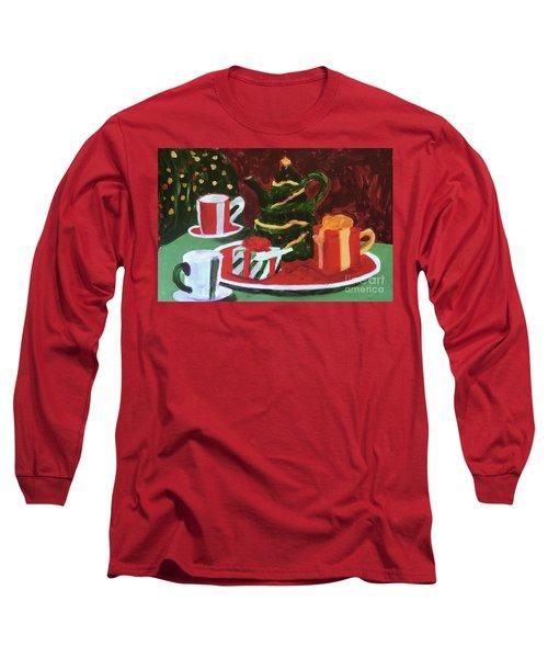 Christmas Holiday Long Sleeve T-Shirt by Donald J Ryker III