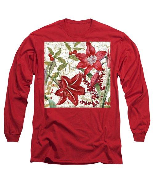 Christmas In Paris I Long Sleeve T-Shirt