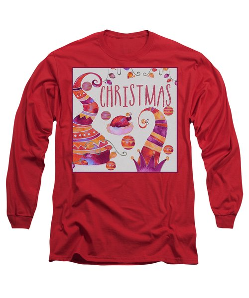 Long Sleeve T-Shirt featuring the photograph Christmas by Jeff Burgess