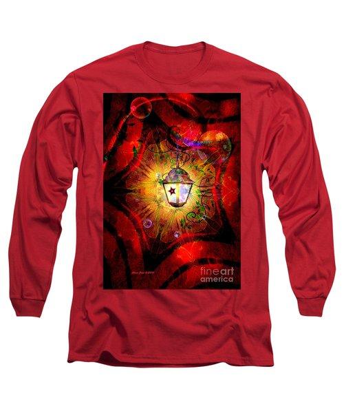 Christmas Lantern And Christmas Star Long Sleeve T-Shirt