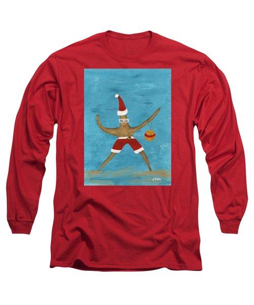 Christmas Starfish Long Sleeve T-Shirt