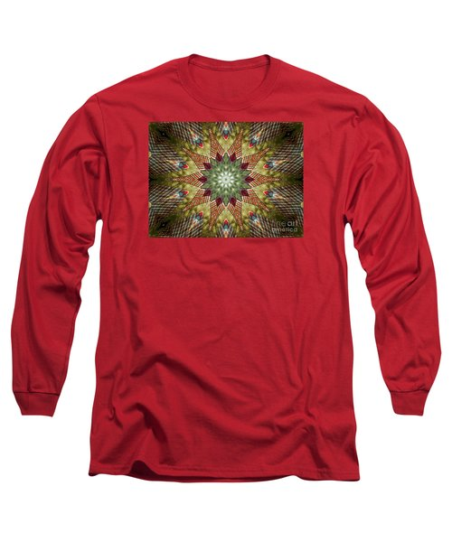 Christmas Wishes  Long Sleeve T-Shirt by Christy Ricafrente
