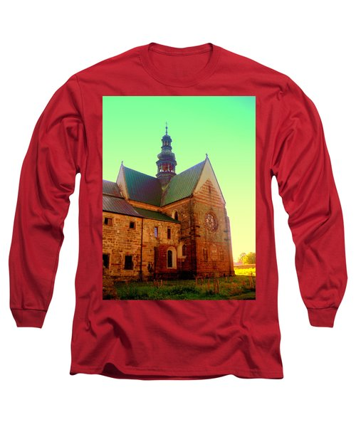 Church Of The Blessed Virgin Mary And St. Florian In The Wachock Long Sleeve T-Shirt