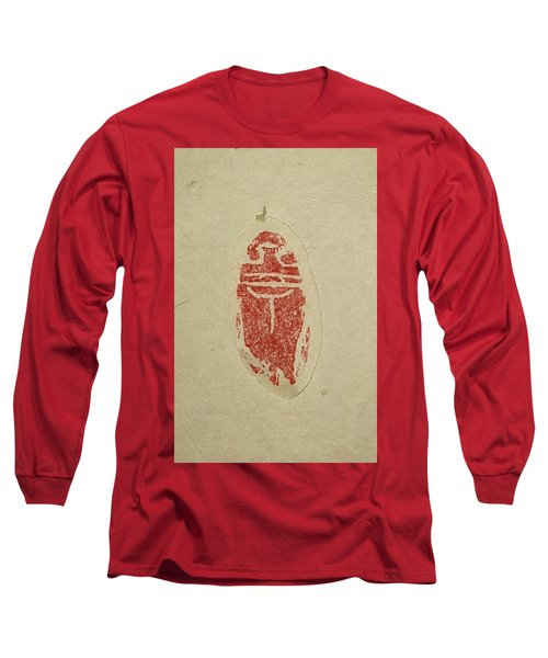 Long Sleeve T-Shirt featuring the painting Cicada Chop by Debbi Saccomanno Chan