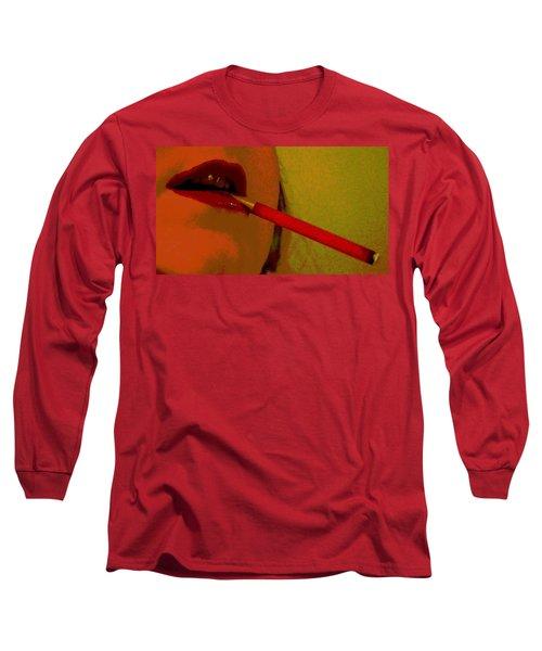 Cigarette Break Long Sleeve T-Shirt
