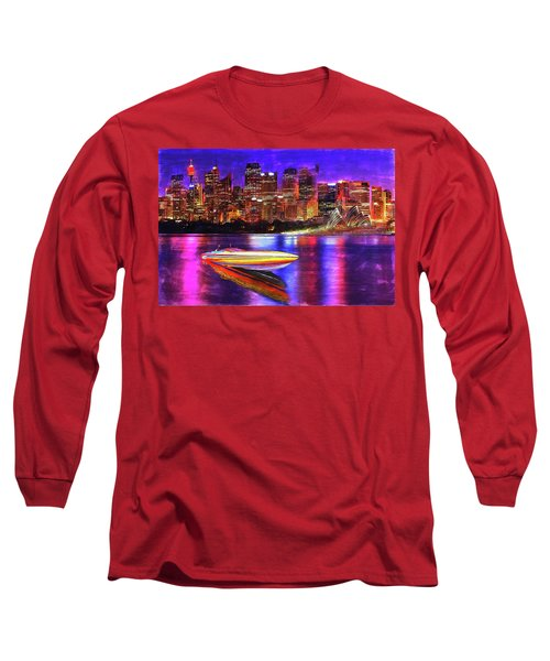 Cigarette Calm Long Sleeve T-Shirt