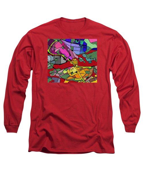 Cityplan#2 Long Sleeve T-Shirt