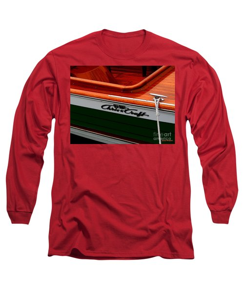 Classic Chris Craft Sea Skiff Long Sleeve T-Shirt