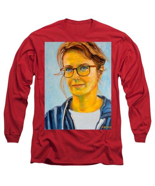 Claudia-portrait Long Sleeve T-Shirt