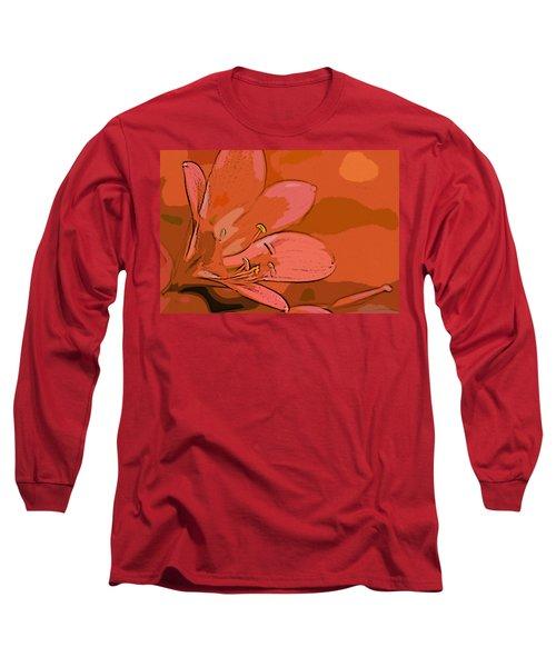 Clivia Miniata Long Sleeve T-Shirt