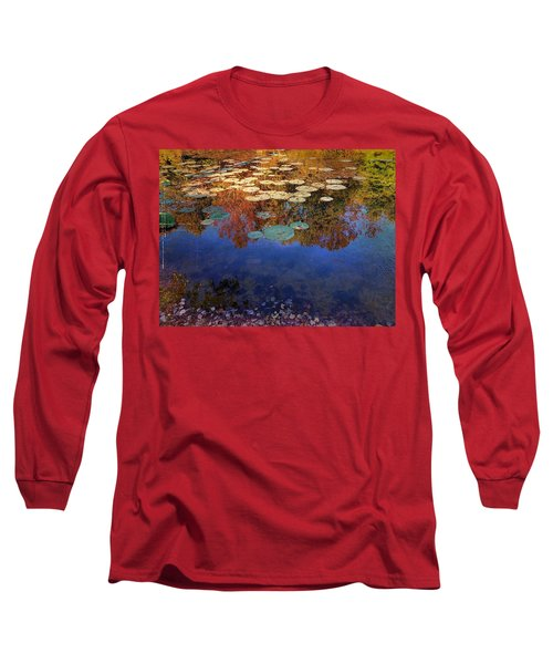 Close By The Lily Pond  Long Sleeve T-Shirt
