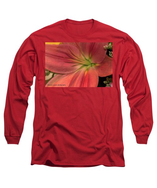 Close Up And Personal Long Sleeve T-Shirt by Nance Larson