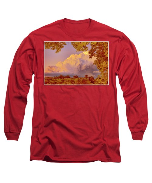 Clouds At Sunset, Southeastern Pennsylvania Long Sleeve T-Shirt