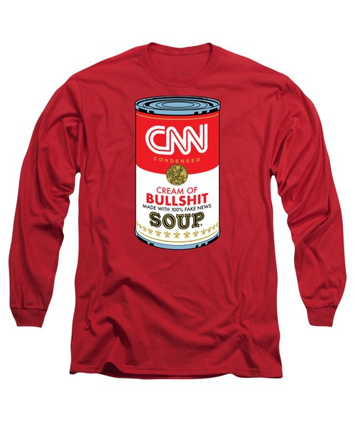 Cnn Soup Can Long Sleeve T-Shirt